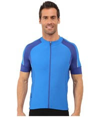 Louis Garneau Lemmon Vent Jersey Curacao Blue Men's Clothing