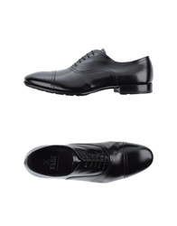 Fabi Lace Up Shoes Black
