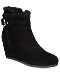 Giani Bernini Pattii Cold Weather Booties Only At Macy's Women's Shoes Black