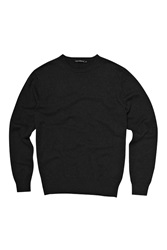 French Connection Auderly Cotton Crew Neck Black