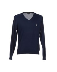 Jeckerson Knitwear Jumpers Men Dark Blue