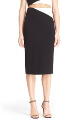 Women's Alice Olivia 'Karissa' Colorblock Midi Pencil Skirt