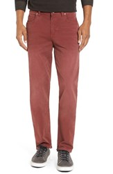 Tommy Bahama Men's 'Santiago' Washed Twill Pants Maroon