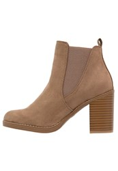 Dorothy Perkins Lateo Ankle Boots Light Brown