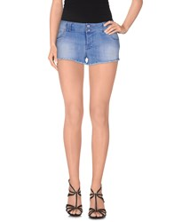 Jcolor Denim Denim Shorts Women Blue