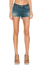 Rag And Bone The Cut Off Short Distressed