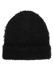 3.1 Phillip Lim Black Faux Fur Beanie