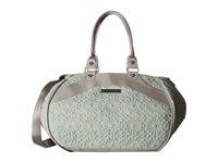 Petunia Pickle Bottom Embossed Wistful Weekender Covent Garden Stop Weekender Overnight Luggage Green