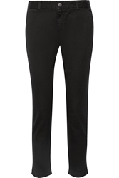 Current Elliott The Buddy Cotton Twill Tapered Pants