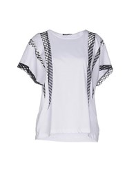 New York Industrie Topwear T Shirts Women White