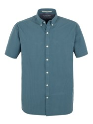Racing Green Cologne Short Sleeve Shirt Blue