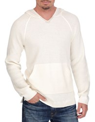 Lucky Brand Hooded Sweater White