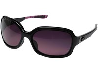 Oakley Pulse Polished Black Smokeyo Rose Gradient Polarized Sport Sunglasses Purple