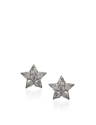 Laura Lee Jewellery Diamond Silver Star Studs