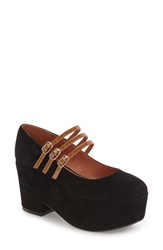 Shellys Women's London Wakefield Platform Mary Jane