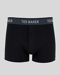 Ted Baker Watchnu Solid Boxer Briefs Black