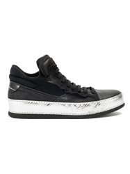Bruno Bordese Lace Up Sneakers Black