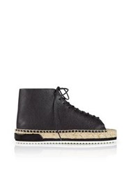 Miista Imogen Open Toe Espadrille Shoes By Miista Black