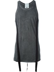Lost And Found Round Neck Tank Top Black