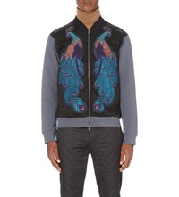 Dries Van Noten Hamish Cotton Jersey Bomber Jacket Raf