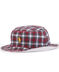 Polo Ralph Lauren Reversible Tartan Bucket Hat