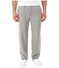 Tommy Bahama New Linen On The Beach Easy Fit Pant Shadow Men's Casual Pants Brown