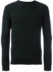 Oliver Spencer 'Ripple Stitch' Pullover Green