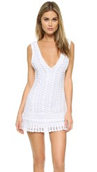 Melissa Odabash Alexis Cover Up Dress White