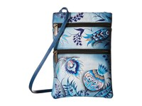 Anuschka 448 Bewitching Blues Cross Body Handbags