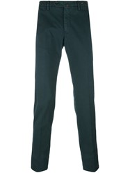 Pt01 Classic Chino Trousers Green