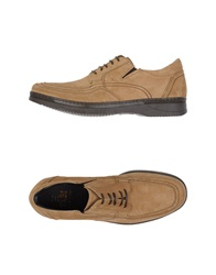 Fabi Lace Up Shoes Sand