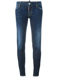 Dsquared2 'Skinny' Jeans Blue