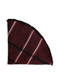 Alexander Olch New York Square Scarves Maroon