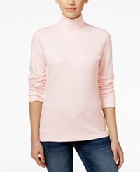 Karen Scott Long Sleeve Turtleneck Only At Macy's Blush