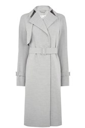 Warehouse Belted Duster Light Grey