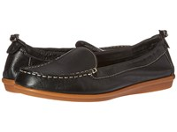 Hush Puppies Endless Wink Black Leather Women's Slip On Shoes