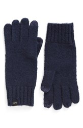 Echo Women's 'Touch' Stretch Fleece Tech Gloves Navy