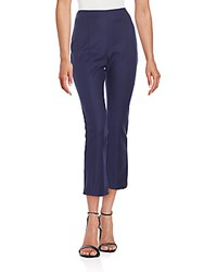 1.State Asymmetrical Seamed High Waist Pants Evening Navy