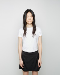 Alexander Wang Cotton Jersey Crewneck Tee White