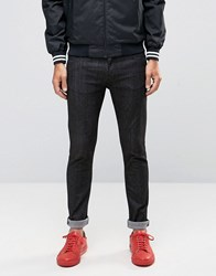 Love Moschino Skinny Fit Jeans Black