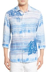 Tommy Bahama Men's 'Ocean Tides Breezer' Original Fit Linen Sport Shirt