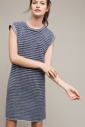 Anthropologie Granite T Shirt Dress Blue