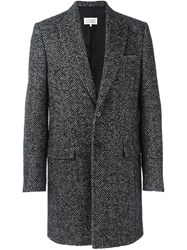 Maison Martin Margiela Herringbone Coat Grey