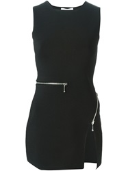 Alexander Wang Fitted Zipped Top Black