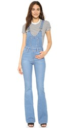 Paige Rialta High Rise Flare Overalls Edgecliff