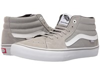 Vans Sk8 Mid Pro Drizzle White Men's Skate Shoes Green