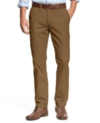 Tommy Hilfiger Big And Tall Men's Chino Pants Cohiba Brown