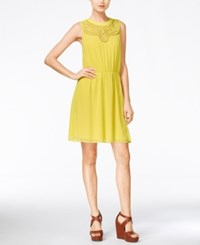 Maison Jules Cinched Waist Sleeveless Dress Only At Macy's Sunfish