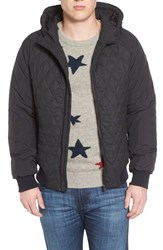 Scotch And Soda Men's Quilted Puffer Jacket