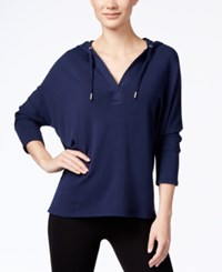 Styleandco. Style Co. Pullover Hoodie Only At Macy's Industrial Blue